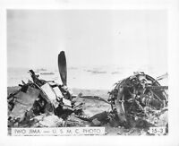(035) Vintage USMC Photo Iwo Jima Operation