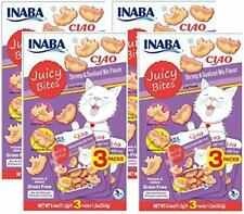Inaba Ciao Juicy Bites Shrimp And Seafood Flavor Cat Treats
