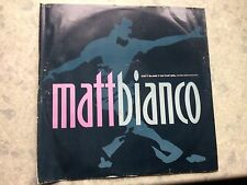 "Matt bianco, don't blame it on that girl, 12""vinyl(rare groove mix)"