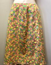 "Vintage 70s The Lilly Lilly Pulitzer Women's 8 (30""W) Pink Yellow Green Floral"