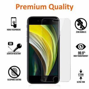 Vitre protection verre trempé film écran iPhone 6 7 8 XR XS 11 12 PRO MAX MINI