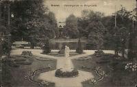 Bremen Meierei Garten 1915 mit Stempel ACHIM als Feldpost 1. Weltkrieg gelaufen
