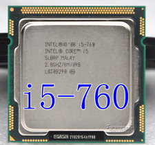 Intel Core i5-760 (SLBRP) Quad-Core 2.8GHz/8M Socket LGA1156 Processor CPU