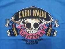 BRAND NEW RARE Cabo Wabo Cantina Cabo San Lucas T-Shirt Sammy Hagar Van Halen XL