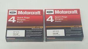 8PCS OEM  Motorcraft Finewire Platinum SP515 PZH14F Spark Plugs Ford 5.4L 6.8L