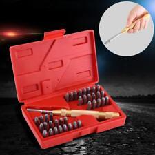 38pcs 3mm Automático Letra &Número Sellado Metal Punch Estampado Metal Punch