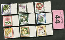 Set stamps of  Niue.  Flowers