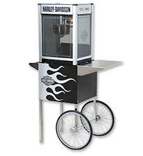 Popcorn Machine Popper & Cart Harley Davidson 4oz