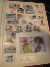 Sammlung Bund ca. 1960-2002, gestempelt auf 36 Seiten viele Vollstempel (80030)