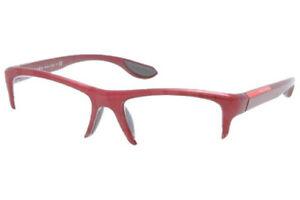 Prada Linea Rossa Optical Frame PS04EV SME1O1 Eyeglasses for Men 53 MM