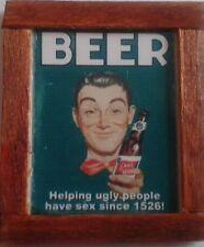 Dolls House Beer pub Advert