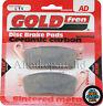HONDA VT750 SHADOW BLACK SPIRIT 750 > FRONT SINTERED BRAKE PADS SET *GOLDFREN