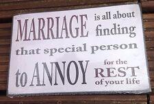 Marriage Plaque