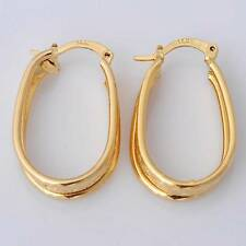 Gorgeous 14K Solid Yellow Gold Filled Women's Wedding Jewelry Earrings Gift E022