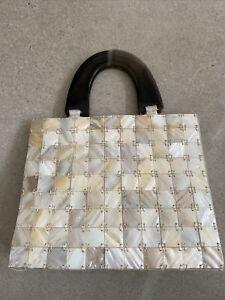 Vintage Mother Of Pearl Bag