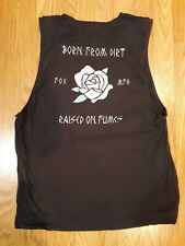 Fox Mfg. Racing Born From Dirt  Tank Top with rose XL
