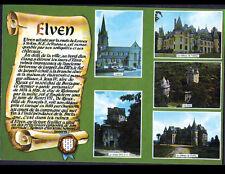ELVEN (56) CHATEAUX de KERFILY , de TREDION , EGLISE & TOURS