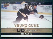 OLLI MAATTA  13/14 AUTHENTIC UDS1 CANVAS YOUNG GUNS CARD  SP