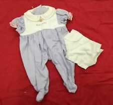 New American Girl -  Bitty's Baby's Sleeper + Diaper for Doll