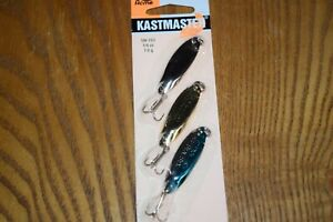 Acme Tackle Kastmaster Casting Spoon 1/4oz 3 Pack Fishing Lures NIP