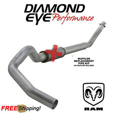 Diamond Eye 5 Inch Turbo Back Exhaust For 1998-2002 Dodge Ram 5.9 Cummins Diesel