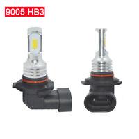 1Pair 9005 HB3 LED Headlights Bulb Kit High Beam 35W 4000LM 6000K White 12V-24V