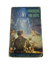BSA Boy Scouts Of America Handbook  5th Edition 10th Printing Oct,1957 Tire Ad