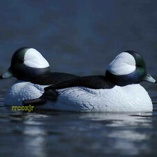 AVERY GREENHEAD GEAR GHG OVERSIZE BUFFLEHEAD DUCK DECOYS WEIGHTED KEEL 6 NEW!