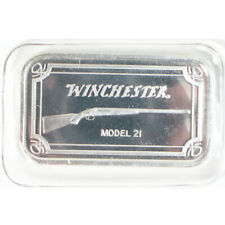 Winchester Model 21 Rifle 1 OZ .999 Fine Silver Bar