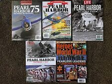 (SET OF 5) PEARL HARBOR Time/Life/Smithsonian Air & Space/Rodale Magazines (New)