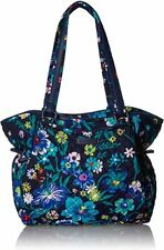 Vera Bradley Iconic Glenna Satchel Bag in Moonlight Garden 22542-n13
