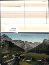 297048,Kaiserbrunn im Höllental Totale Bergkulisse b. Schwarzau