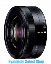 Panasonic LUMIX G VARIO 12-32mm F3.5-5.6 ASPH./MEGA O.I.S lens Black from Japan