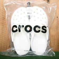 CROCS Classic Cayman White Roomy Fit Clogs Men's Sz. 12