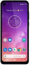"Motorola One Vision (128GB, 4GB) 6.3"" LCD 21:9 4G LTE GSM DESBLOQUEADA XT1970-2 Azul"