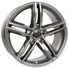 Wheelworld WH11 8x18 5x112 ET35 DG+ daytonagrau glanz Audi A4 A5 A6 A7 Q5 66,6