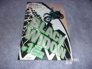 BLACK WIDOW COMIC #1 3RD PRINTING