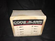 Code Alarm Vehicle security Mv-1 Motion Vehicle Rare Vintage Collectible