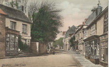 Bexhill, Old Town, old postcard around 1914, East Sussex