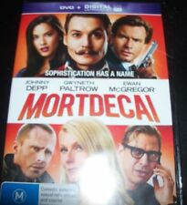 Mortdecai (Johnny Depp Gwenyth Paltrow) (Australia Region 4) DVD – New