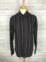 Mens Ted Baker Shirt - Size 3 Medium - Striped - Great Condition