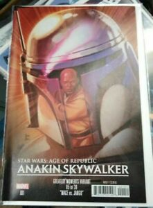 Star Wars Age of Republic Anakin Skywalker #1E Greatest Moments Variant VF/NM