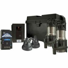 Ion 35aci Deluxe Battery Backup Sump Pump System 3000 Gph 10