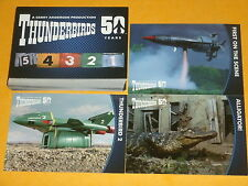 THUNDERBIRDS 50th Anniversary Base Set OF 54 Trading Cards Classic UK TV Scarlet