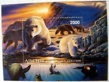 POLAR BEAR STAMPS SHEET MINI SHEET MNH CINDERELLA ANTARCTIC BEARS WILD ANIMALS