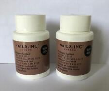 NAILS INC nail polish rapid remover pot DUO in CHOCOLATE SCENT  (new & sealed)