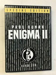 Enigma 5 DVD Set by Paul Vunak JKD Self Defense Martial Arts Jeet June Do B34
