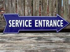 """CAR DEALERSHIP GARAGE SHOP SERVICE ARROW SIGN,STATION,VINTAGE STYLE,""""MAN CAVE"""""""