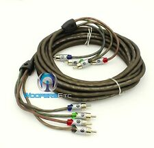 MEMPHIS ULTRA TWISTED RCA UTPF21-4 WIRE 21 FEET 4 CHANNEL AMPLIFIER AUDIO CABLE
