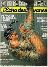 L'ECHO DES SAVANES NOUVELLE SERIE N° 19 1984 TRES BON ETAT